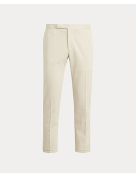 Stretch Chino Suit Trouser by Ralph Lauren