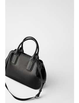 Bolsa City Bag Soft Envelhecida by Zara