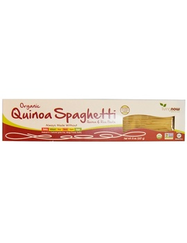 Now Foods, Real Food, Organic Quinoa Spaghetti, 8 Oz (227 G) by Now Foods