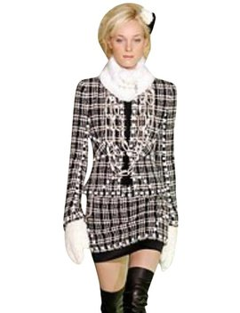 Black / White Ensemble Skirt Suit by Chanel