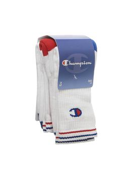 3 Pack Performance Crew Sock by Champion