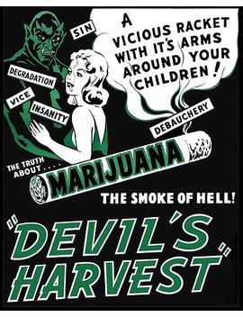 Devil's Harvest Poster by Spock Jenkins