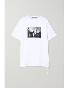Dancers Bedrucktes T Shirt Aus Baumwoll Jersey by Ksubi
