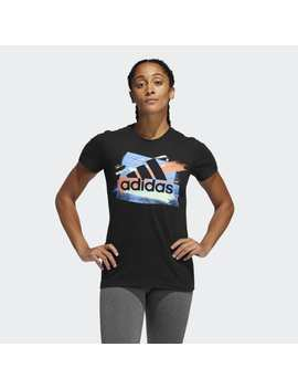 Badge Of Sport Color Brush Tee by Adidas