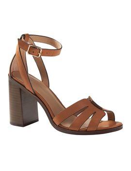 Block Heel Sandal by Banana Republic