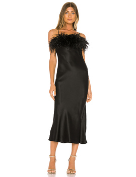 Cerise Dress In Black by Cinq A Sept
