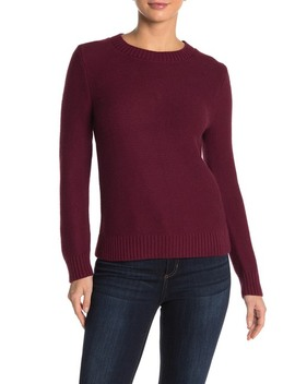 Marnie Crew Neck Sweater by J. Crew