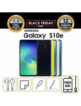 New Samsung Galaxy S10e Sm G970 U 128 Gb Single Sim   Factory Unlocked by Ebay Seller