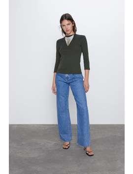 Ettersittende T Skjorte by Zara