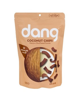 Dang, Coconut Chips, Chocolate Sea Salt, 2.82 Oz (80 G) by Dang