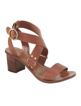 Low Block Heel Sandal by Banana Republic