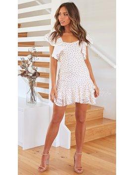 Teagan Dress   White/Rose by Billy J.