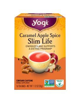Yogi Tea, Slim Life, Caramel Apple Spice, 16 Tea Bags, 1.12 Oz (32 G) by Yogi Tea