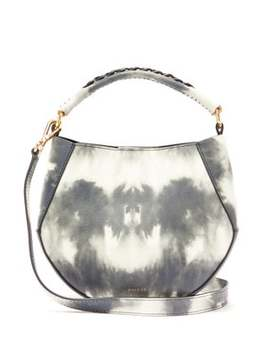 Corsa Mini Tie Dye Leather Tote Bag by Wandler