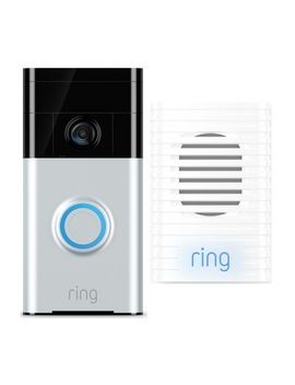 Video Doorbell 2 & Chime Bundle by Currys