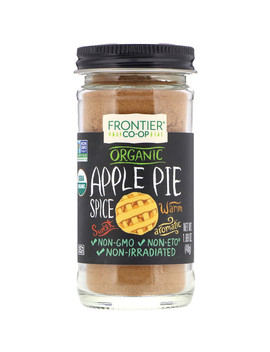 Frontier Natural Products, Organic, Apple Pie Spice, 1.69 Oz (48 G) by Frontier Natural Products