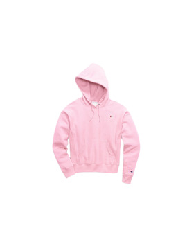 Champion C Life Reverse Weave C Logo Pullover Pink Candy Hoodie Gf757 Y06145 Pkn by Champion