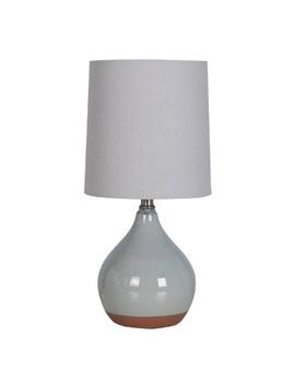 Ceramic Reactive Accent Lamp Gray   Threshold™ by Threshold
