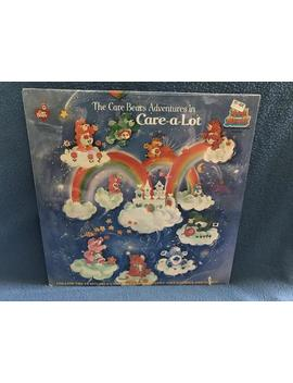 """Sealed, Vintage, The Care Bears Adventure In """"Care A Lot"""", Vinyl Lp Record Album, Original First Press, Childrens, New Oldstock by Etsy"""
