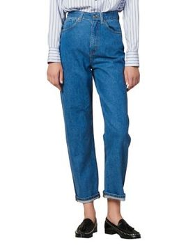 Tapered Ankle Mom Jeans by Sandro