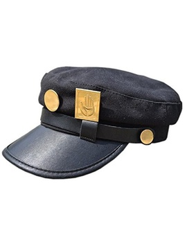 Jojo's Bizarre Adventure Hat Jotaro Kujou Cap Cosplay by Wish