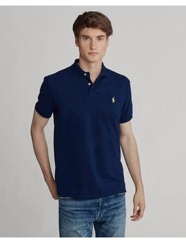 Custom Slim Fit Polo Shirt by Ralph Lauren