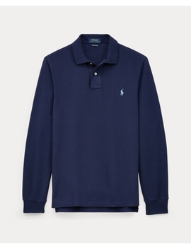 Custom Slim Long Sleeve Polo by Ralph Lauren