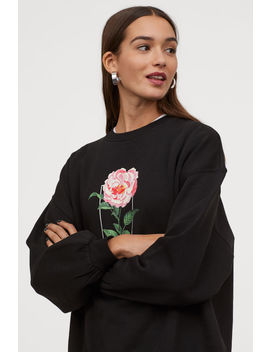 Sweatshirt With Graphic Print by H&M