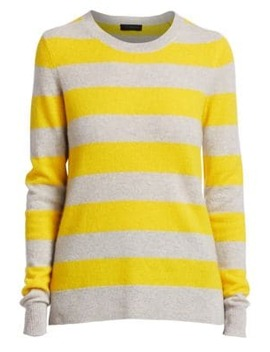 Collection Striped Cashmere Pullover by Saks Fifth Avenue
