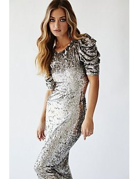 Gigi Sequin Midi Dress by Free People