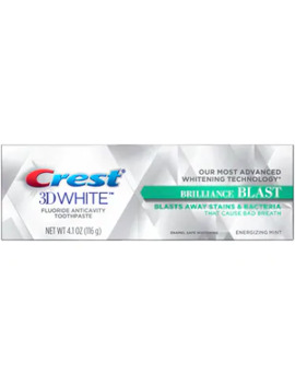 Crest 3 D White Brilliance Blast Whitening Toothpaste, Energizing Mint, 4.1 Oz by Cvs
