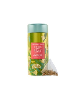 Fortnum & Mason Sicilian Lemon & Ginger Infusion Tea by Williams   Sonoma