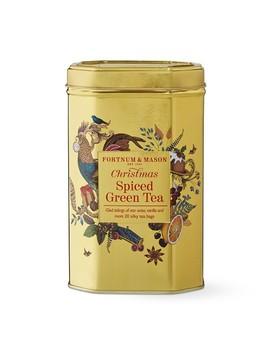 Fortnum & Mason Christmas Green Tea Silky Tea Bags by Williams   Sonoma