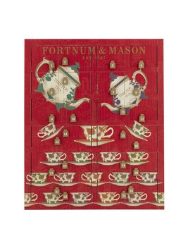 Fortnum & Mason Rare Tea Wooden Advent Calender by Williams   Sonoma