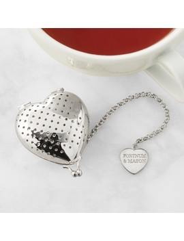 Fortnum Mason Heart Tea Infuser by Williams   Sonoma