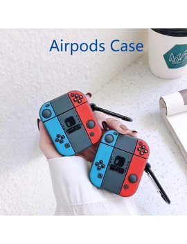 Air Pods Case Silicone Cute 3 D Game Earphone Case For Airpods 2 Headphone Case For Apple Air Pods Cover Earpods Carabiner by Wish