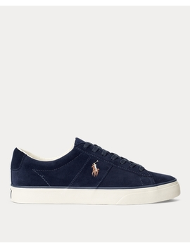 Sayer Leather Low Top Trainer by Ralph Lauren
