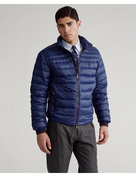 Packable Quilted Down Jacket by Ralph Lauren