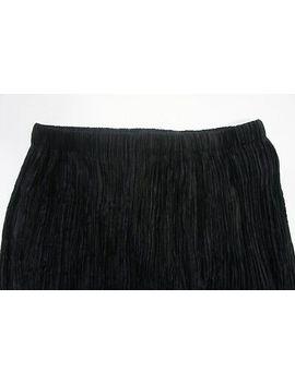 <Span><Span>Vintage Issey Miyake Pleated Velvet Skirt, Jp 3</Span></Span> by Ebay Seller