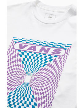Vans Kaleidoscope Check Long Sleeve T Shirt by Pacsun