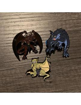 Gargoyles Pin Pack Of Three by Etsy