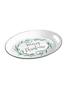 Merry Christmas Wreath Tray by Pier1 Imports