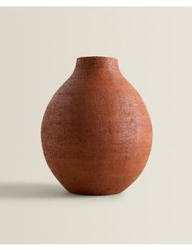 Terracotta Vase  Vases   Decoration   Bedroom by Zara Home
