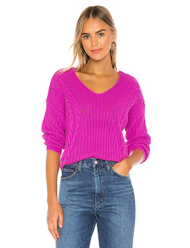 Evon Sweater In Orchid by Heartloom