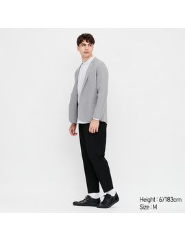 Pantalon Ezy 7/8ème Stretch Homme by Uniqlo