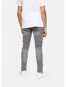 Grey Multi Rip Skinny Jeans by Topman