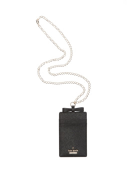 Cameron Street Leather Lanyard Card Holder by Kate Spade New York