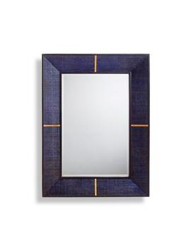 Langley Raffia Mirror by Frontgate
