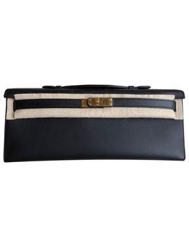 Kelly Cut Clutch Leather Clutch Bag by Hermès