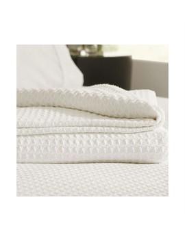Cotton Waffle Blanket Single/Double by Sheridan